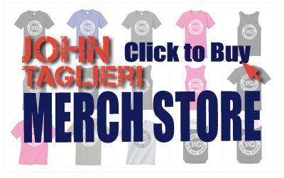 John Taglieri Merch Store